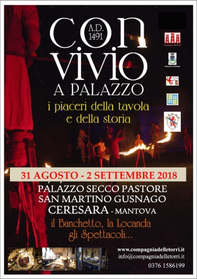 ConvivioaPalazzo, Palazzo Secco-Pastore San Martino Gusnago, Ceresara (Mantova)