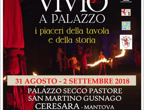 Convivio a Palazzo, Palazzo Secco-Pastore San Martino Gusnago, Ceresara (Mantova)